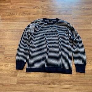 J. crew Stripe Cotton Sweater